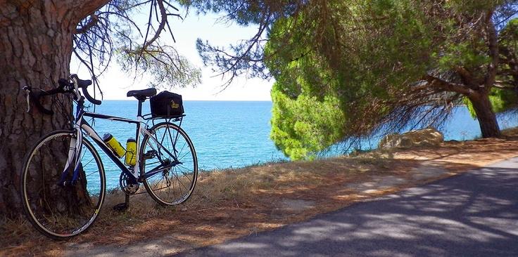Blue coast of Portugal