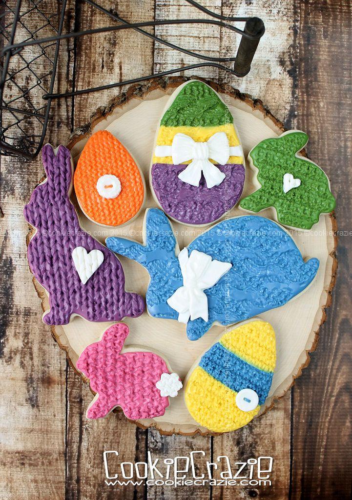 CookieCrazie: Spring Edible Clay Cookie Embellishments (Tutorial)