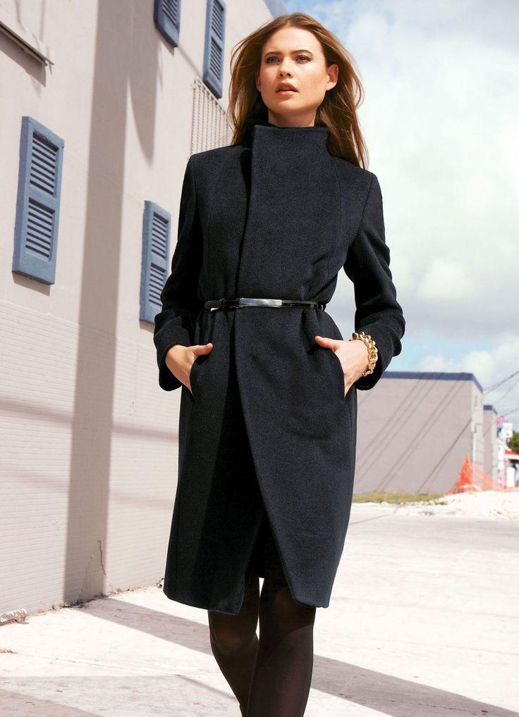 Женские пальто весна 2016 (356 фото): от российских производителей, модели, стили и фасоны, стеганые, короткие, драповые, кожаные