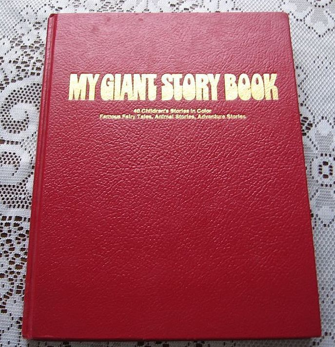 Large 1972 My Giant Story Book By Ottenheimer Publishers
