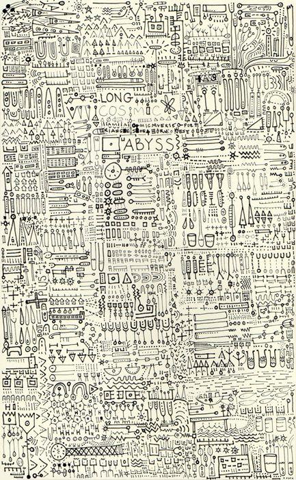 """Sketchbook - Symbols, Icons Pen 5 X 8"""""""
