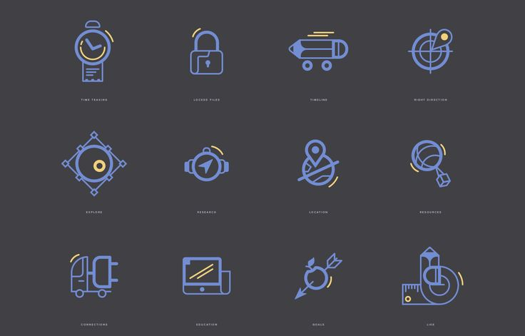 Game and Management Icons on Behance