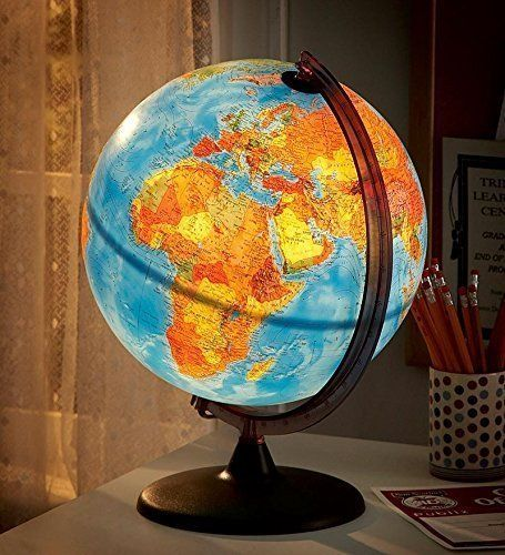 Beautiful Lighted Globe that be doubled as night light (unique gifts for her)