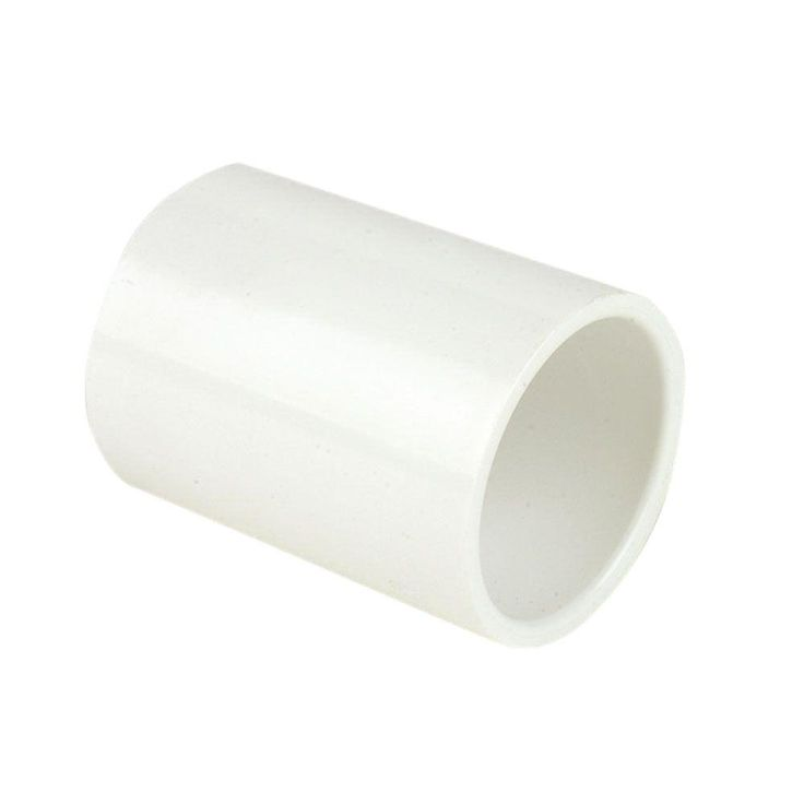 DURA 3/4 in. Schedule 40 PVC Coupling-C429-007 - The Home Depot