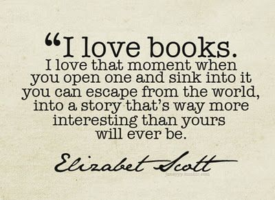 I Love Books and Why I loved them!