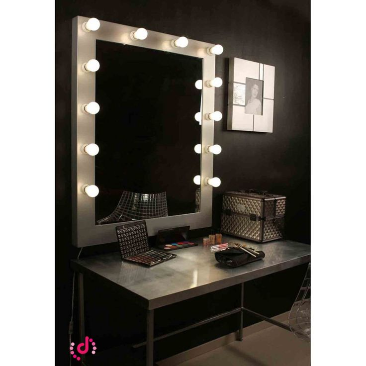 Las 25 mejores ideas sobre espejo maquillaje en pinterest - Espejos de tocador con luz ...