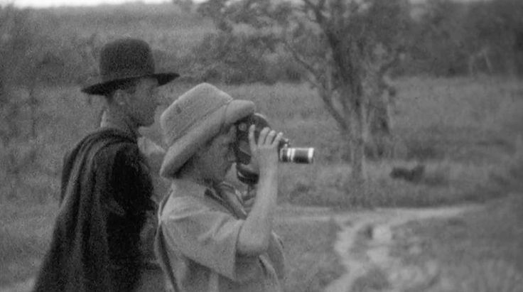 """Denys Finch Hatton and the Prince of Wales Edward VIII on safari, from the documentary """"Edward VIII: The Lion King"""" by George Pagliero"""