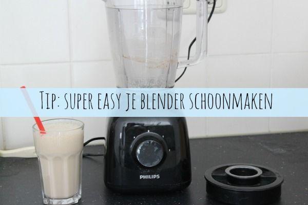 Tip: super easy je blender schoonmaken - Lekker en Simpel