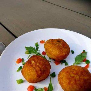 Barbados: Salt Fish Cakes and Marie Rose Sauce