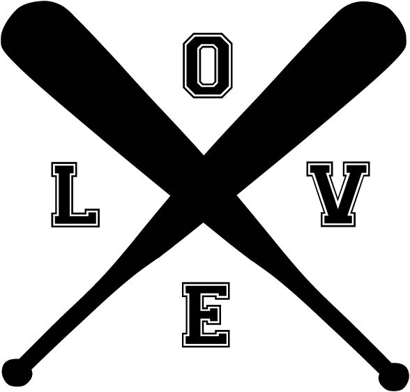 Download FREE SVG FILE! Baseball Love SVG file is available on our ...