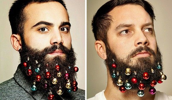 Christmas Accessory: Beard Baubles For Men – beautyheaven