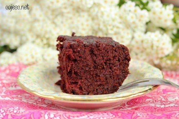 Czeko - ciasto buraczane