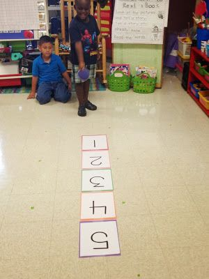 Chalk Talk: A Kindergarten Blog: This Week in Math: Numbers 1-5