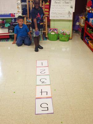 Chalk Talk: A Kindergarten Blog: This Week in Math: Numbers 1-5