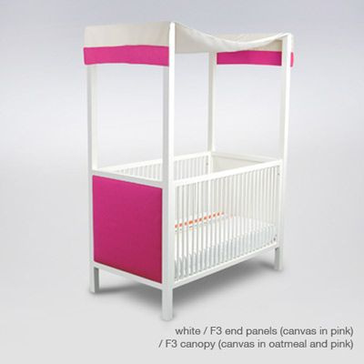 a canopy crib? perfect!Cabana Canopies, Canopies Cribs, Options Canopies, Fabrics Canopies