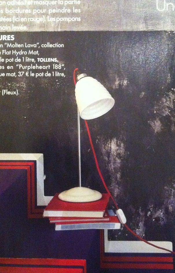 Spotted in the new issue of Elle Decoration France - the Hector Bibendum table light designed by Original BTC.