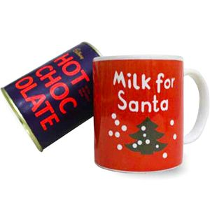 Santa Mug N Hot Chocolate An excellent gifting idea for the special occasion of Christmas Rs 799/- http://www.tajonline.com/gifts-to-india/gifts-X1446.html?aff=pint2014/
