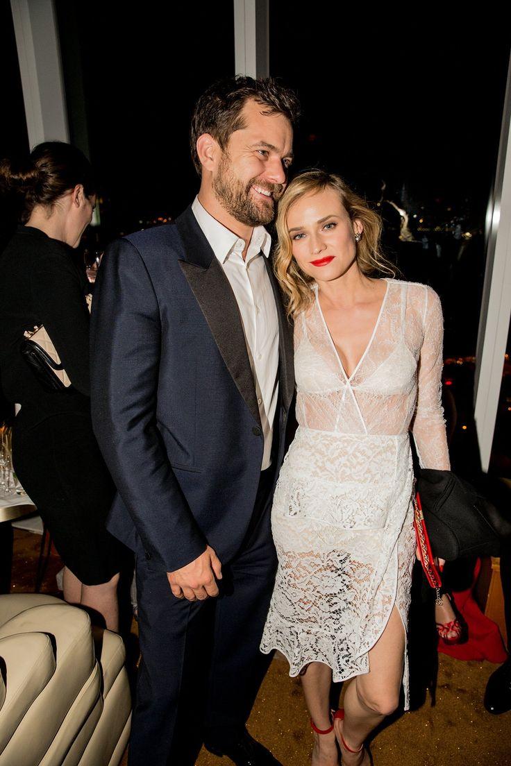Joshua Jackson and Diane Kruger in Altuzarra - The Met Gala after-party