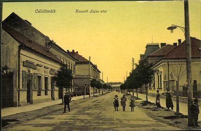 Celldömölk; Kossuth Lajos utca | Képeslapok | Hungaricana