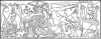 Hemos preparado un poster para colorear el Guernica de Picasso. Se trata de una buena forma de conocer los horrores de la guerra reflejados por el pintor en el cuadro y que seguramente redescubrirán nuestros alumnos/as cuando pinten las imágenes del mismo. Cómo en otras ocasiones, además de varios tamaños, …