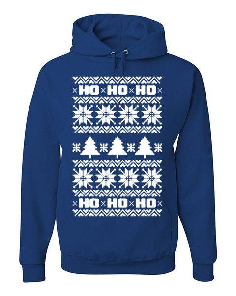 HO HO HO! Funny Merry Christmas Sweatshirt Xmas Hoodie Christmas Santa Rudolph $ 34.99