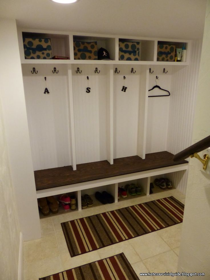 10 best images about home on pinterest home stairs and for Mudroom addition plans