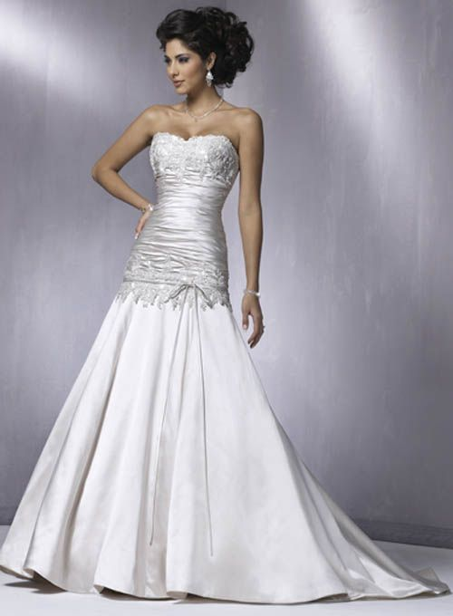 Silver Wedding Dress Ideas : 89 best wedding ideas images on pinterest