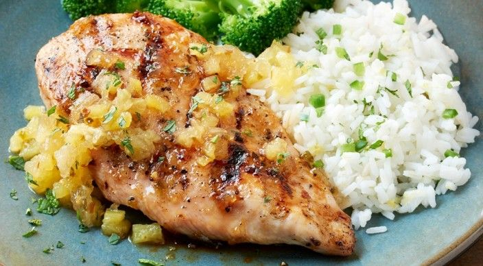 Pineapple-Glazed Chicken Breasts | Weber.com