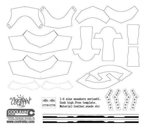 Создание обуви в масштабе 1/6 / Сделай сам (DIY) / Всё о дизайнерских виниловых игрушках - Vinyltoys.kz