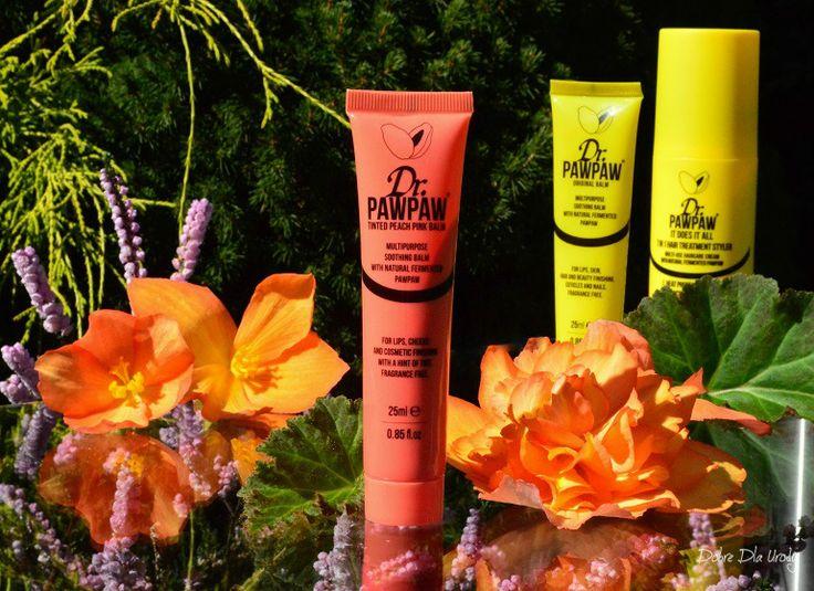 Dr. PAWPAW uniwersalne produkty do ust, skory, paznokci i włosów - Tinted Peach Pink Balm recenzja