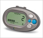 Weight Watchers Pedometer. Using it and it is easy to use and helping me not to be the couch potato I normally am
