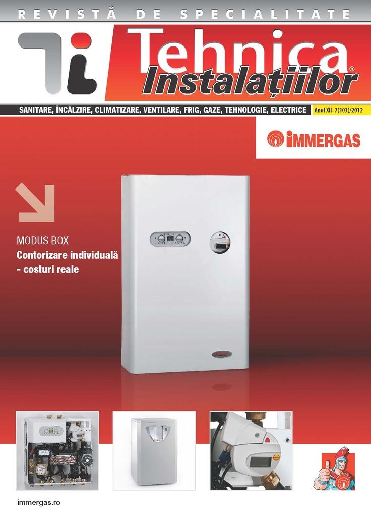 Revista Tehnica Instalatiilor nr. 07_103_2012