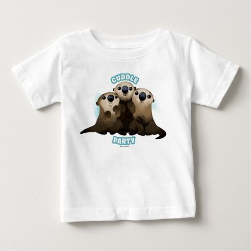 Finding Dory Otters | Cuddle Party. Regalos, Gifts. #camiseta #tshirt