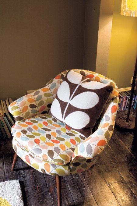 Orla Kiely sofa