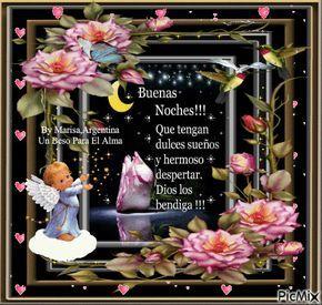Que tengan dulces sueños y un hermoso despertar. Dios los Bendiga!!!