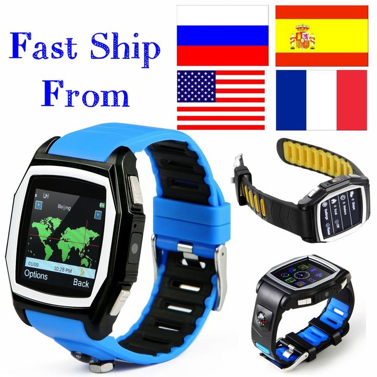 GPS Tracker T6 heart rate monitor watches phone casual digital sim bluetooth wear smart watch for apple sport watch android SmsAliexpress | www.sms.hr #smsaliexpress