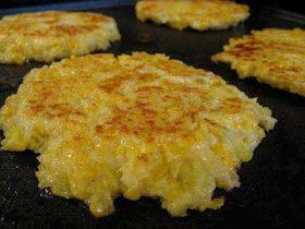 A different cauliflower recipe  Cheesy Cauliflower Patties