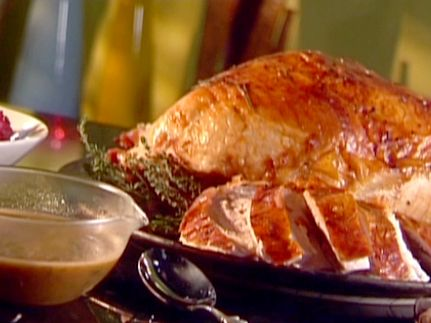 Turkey Breast with Gravy Recipe : Food Network Kitchen : Food Network - FoodNetwork.com. Brine for 4-8 hours before cooking.