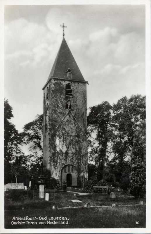 Former church tower, Oud-Leusden