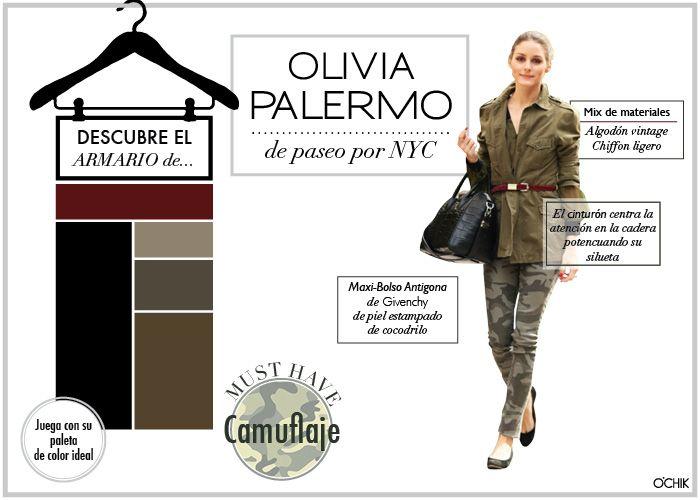 Olivia Palermo. Camuflaje