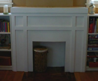 Prairie Home Therapy: The Faux Fireplace Facelift.