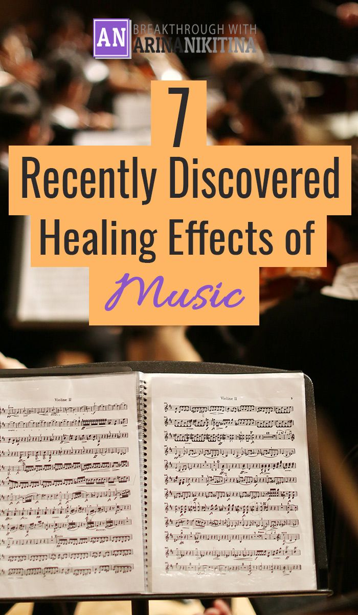 Does music really have a healing effect? Researchers explore 7 new healing effects of music and ways how music therapy can improve health...