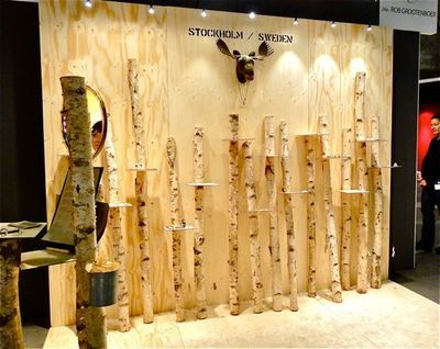 """booth display taken by Linda Savineau at """"Sieraad"""", a yearly jewelry show in Amsterdam"""