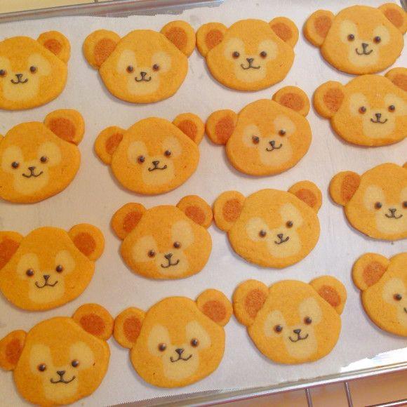 ダッフィーのアイスボックスクッキー♡