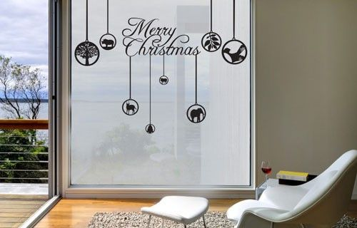 African Christmas animals vinyl decorations from Fantastick Wall Décor (South Africa)  #african #christmas #southafrica