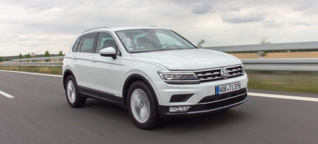 2016er VW Tiguan TDI mit Frontantrieb im VAU-MAX.de-Fahrbericht: Stadt, Land…