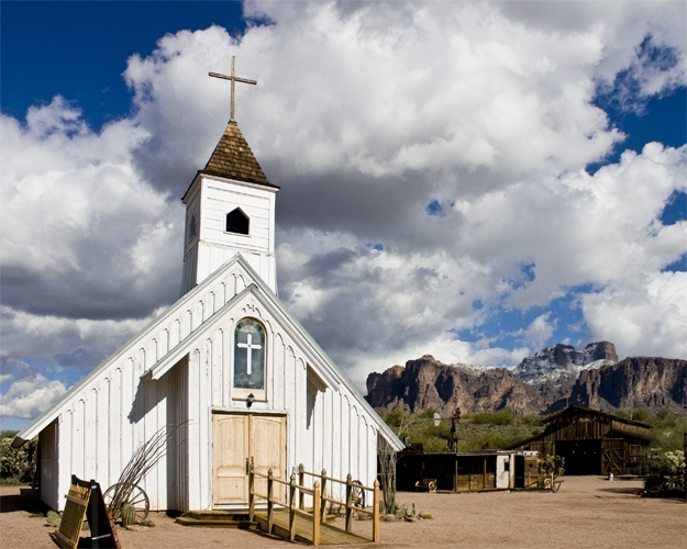 Apache Junction, Arizona {filming location of several western movies}