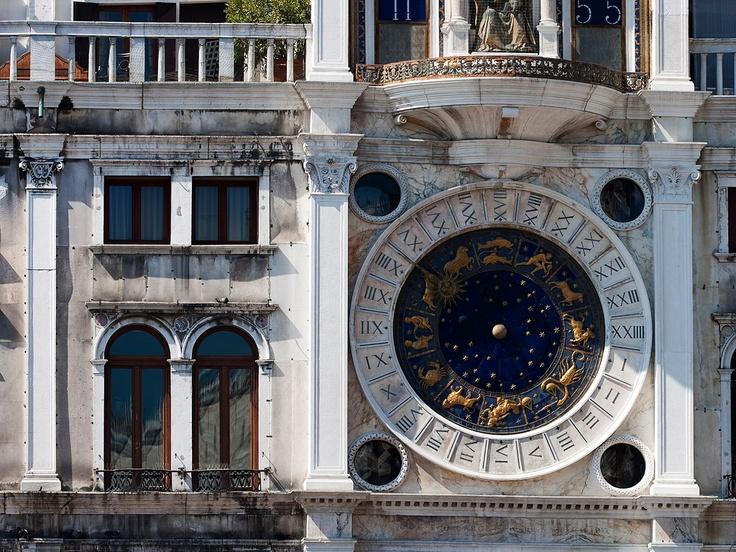 St #Mark's #Clock #Venice #Italy