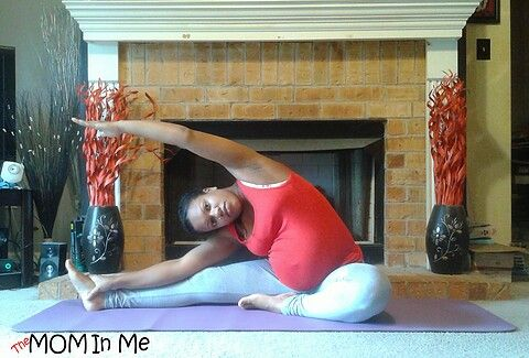 sitting side stretch will open your side waist and