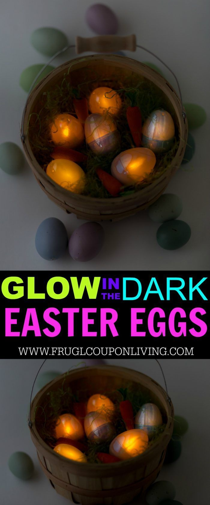 Glow in the Dark Easter Egg Hunt at Night. Twist your typical Easter Tradition u...